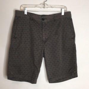 Union flat front shorts.  Size 32